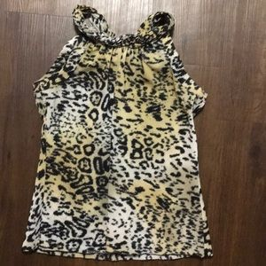 Dressy Leopard Tank Top